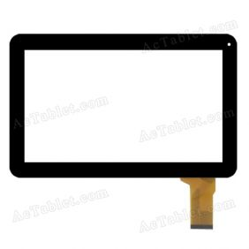 FHF100010 Digitizer Glass Touch Screen Replacement for 10.1 Inch MID Tablet PC