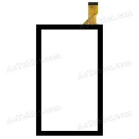 FHF70096 Digitizer Glass Touch Screen Replacement for 7 Inch MID Tablet PC