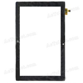 QSD 702-10188-5 Digitizer Glass Touch Screen Replacement for 10.1 Inch MID Tablet PC