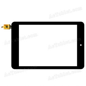 F-WGJ78014-V2 Digitizer Glass Touch Screen Replacement for 7.9 Inch MID Tablet PC