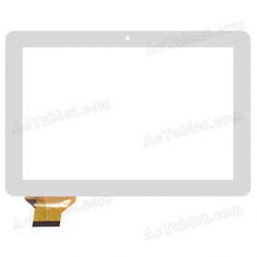 QSD E-C100018-02 Digitizer Glass Touch Screen Replacement for 10.1 Inch MID Tablet PC
