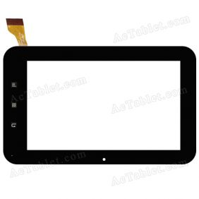 FPC-TP070055(X7)-01 Digitizer Glass Touch Screen Replacement for 7 Inch MID Tablet PC