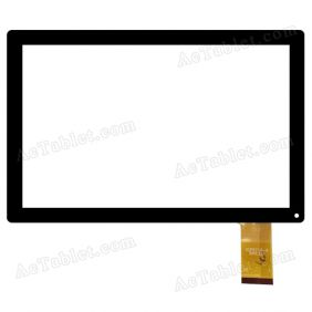 YCF0719-A 2015.3.21 Digitizer Glass Touch Screen Replacement for 10.1 Inch MID Tablet PC