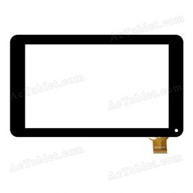 YDT1207-A1 Digitizer Glass Touch Screen Replacement for 7 Inch MID Tablet PC