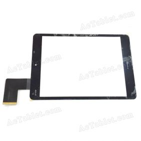 C196131F1-FPC808DR Digitizer Glass Touch Screen Replacement for 7.9 Inch MID Tablet PC