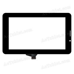 C188112A1-FPC737DR-02 Digitizer Glass Touch Screen Replacement for 7 Inch MID Tablet PC