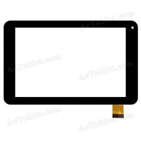 YCF0511-B Digitizer Glass Touch Screen Replacement for 7 Inch MID Tablet PC