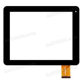 SLC08004EE0B-V0 Digitizer Glass Touch Screen Replacement for 8 Inch MID Tablet PC