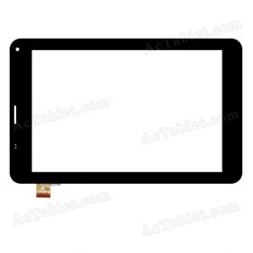 NJG070123CCG0B-V0 Digitizer Glass Touch Screen Replacement for 7 Inch MID Tablet PC