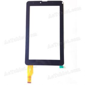 F-WGJ70641-V2 Digitizer Glass Touch Screen Replacement for 7 Inch MID Tablet PC