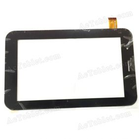 YCF235-B Digitizer Glass Touch Screen Replacement for 7 Inch MID Tablet PC