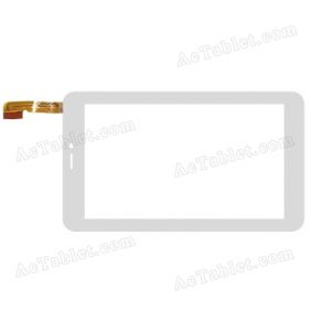 GT07019A1 Digitizer Glass Touch Screen Replacement for 7 Inch MID Tablet PC