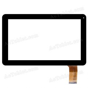 FY-C10.1-0057A-F-01 Digitizer Glass Touch Screen Replacement for 10.1 Inch MID Tablet PC