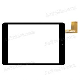 QX20140910 HK80DR2437-V01 Digitizer Glass Touch Screen Replacement for 7.9 Inch MID Tablet PC