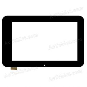 TPT-070-162 Digitizer Glass Touch Screen Replacement for 7 Inch MID Tablet PC