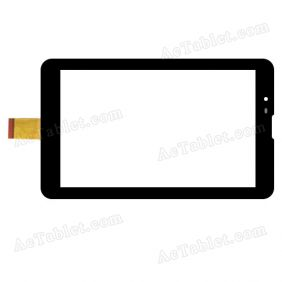GT07017A Digitizer Glass Touch Screen Replacement for 7 Inch MID Tablet PC