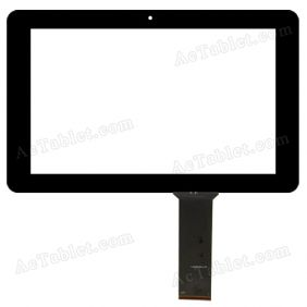 YJ098FPC-V0 Digitizer Glass Touch Screen Replacement for Android Tablet PC