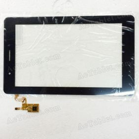 RS7F232_V1.4 Digitizer Glass Touch Screen Replacement for 7 Inch MID Tablet PC