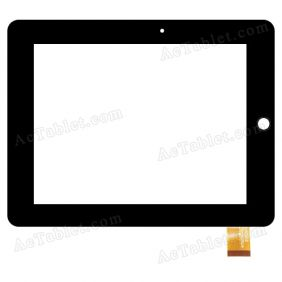 N70008Z-A-V2 Digitizer Glass Touch Screen Replacement for 7 Inch MID Tablet PC