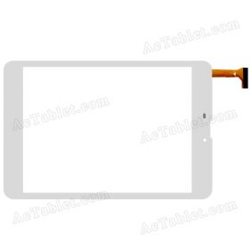 ZJ-80031A FHX Digitizer Glass Touch Screen Replacement for 8 Inch MID Tablet PC
