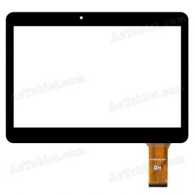 XC-PG1010-035-A0-FPC Digitizer Glass Touch Screen Replacement for 10.1 Inch MID Tablet PC