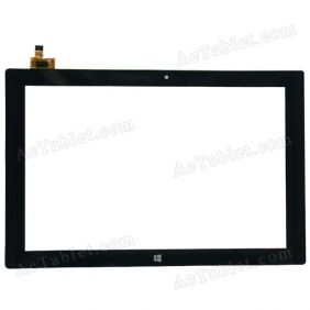 702-10114-02 Digitizer Glass Touch Screen Replacement for 10.1 Inch MID Tablet PC