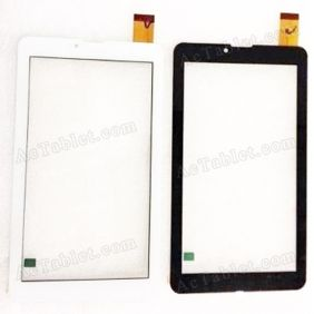 LS-F1B284B4BJ Digitizer Glass Touch Screen Replacement for 7 Inch MID Tablet PC