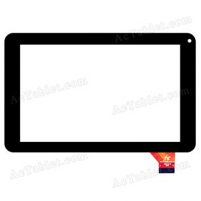 JQ7055FP-01 Digitizer Glass Touch Screen Replacement for 7 Inch MID Tablet PC