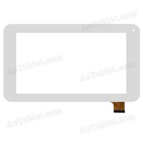 XN1205V1 20131010 Digitizer Glass Touch Screen Replacement for 7 Inch MID Tablet PC