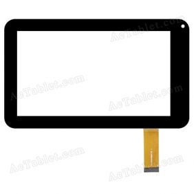 LS-FPC0700MG77B Digitizer Glass Touch Screen Replacement for 7 Inch MID Tablet PC