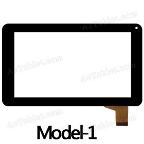 DR7-M7S-XC XC-PG0700-1088-A0 FPC Digitizer Glass Touch Screen Replacement for 7 Inch MID Tablet PC