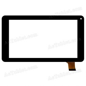 HOTATOUCH HC186104A1FPC-V1.0 Digitizer Glass Touch Screen Replacement for 7 Inch MID Tablet PC