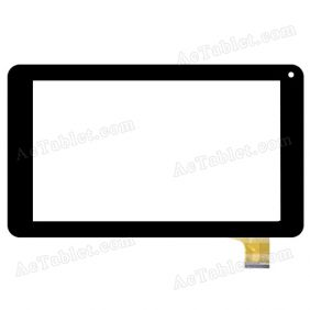XN1168V1 Digitizer Glass Touch Screen Replacement for 7 Inch MID Tablet PC