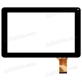NJG090003AEG0B Digitizer Glass Touch Screen Replacement for 9 Inch MID Tablet PC