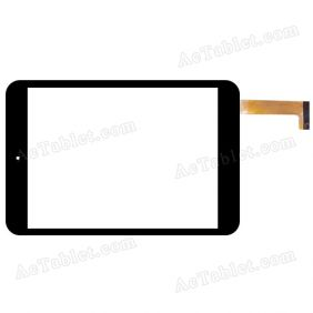 Z215X078A50-D Digitizer Glass Touch Screen Replacement for 8 Inch MID Tablet PC