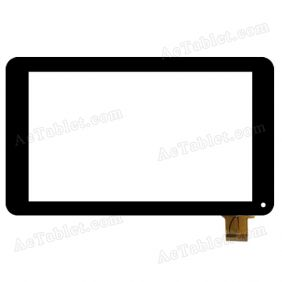 JQF07009A Digitizer Glass Touch Screen Replacement for 7 Inch MID Tablet PC