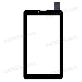 WJ675-V1.0 Digitizer Glass Touch Screen Replacement for 7 Inch MID Tablet PC