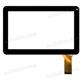 LHJ0227-F100A1 V1.0 Digitizer Glass Touch Screen Replacement for 10.1 Inch MID Tablet PC