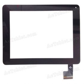 QSD E-C8007-03 Digitizer Glass Touch Screen Replacement for 8 Inch MID Tablet PC