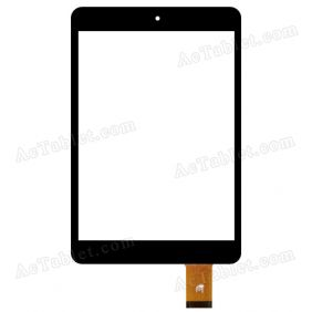 ZHC-M9721-155B Digitizer Glass Touch Screen Replacement for 7.9 Inch MID Tablet PC