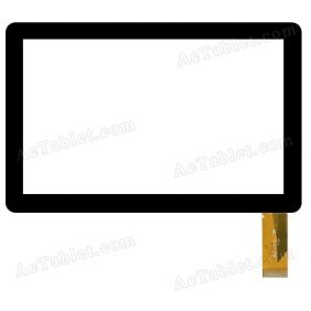 C2-HY0113A FHX Digitizer Glass Touch Screen Replacement for 7 Inch MID Tablet PC