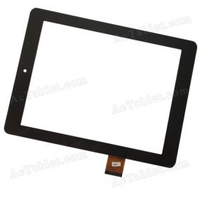 080091-01A-V1 Digitizer Glass Touch Screen Replacement for 8 Inch MID Tablet PC