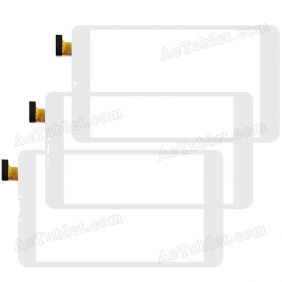 XC-GG0800-008-V1.0 Digitizer Glass Touch Screen Replacement for 8 Inch MID Tablet PC