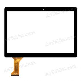 Touch Screen Replacement for NuVision TM1088 TM1088C Quad Core 10.1 Inch Tablet PC