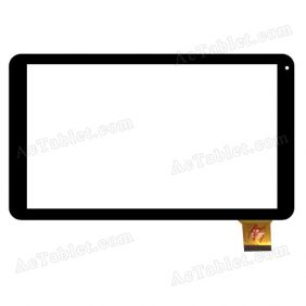 FM102206KA Digitizer Glass Touch Screen Replacement for 10.1 Inch MID Tablet PC