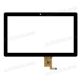 CTP187-101-A V1.0 Digitizer Glass Touch Screen Replacement for 10.1 Inch MID Tablet PC