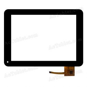 MF-279-080F-3 Digitizer Glass Touch Screen Replacement for 8 Inch MID Tablet PC