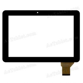 HJ107GG00A Digitizer Glass Touch Screen Replacement for 10.1 Inch MID Tablet PC