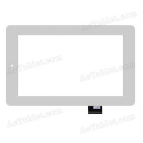 070283-01A-V1 Digitizer Glass Touch Screen Replacement for 7 Inch MID Tablet PC