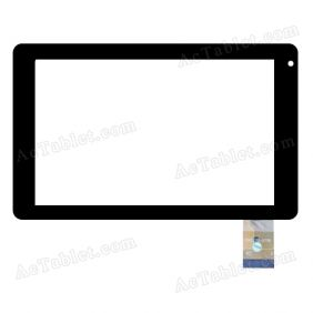 DX0135-0708 Digitizer Glass Touch Screen Replacement for 7 Inch MID Tablet PC